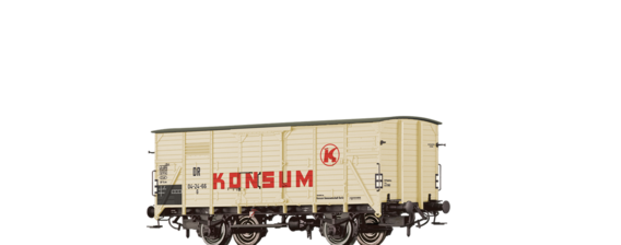 "Covered Freight Car G ""Konsum"" DR"