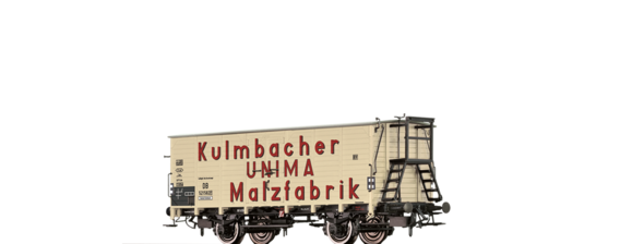 "Covered Freight Car ""Kulmbacher UNIMA Malzfabrikat"