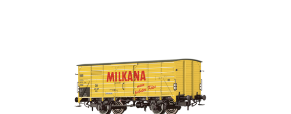 "Covered Freight Car ""Milkana"" DB"