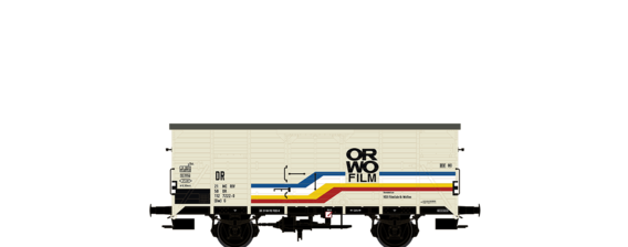 "Covered Freight Car G ""ORWO"" DR"