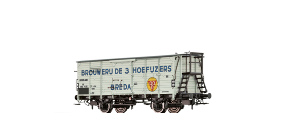 "Covered Freight Car ""Brouwerij de 3 Hoefuzers "" NS"