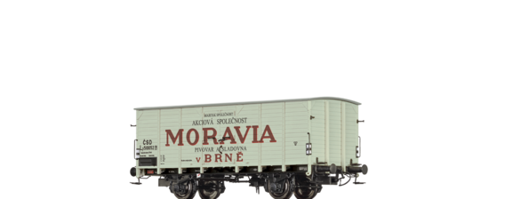 "Covered Freight Car Lp ""Moravia"" CSD"