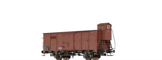 Covered Freight Car Gm K.Sächs.Sts.E.B.