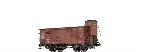 Covered Freight Car Gm K.Bay.Sts.B.