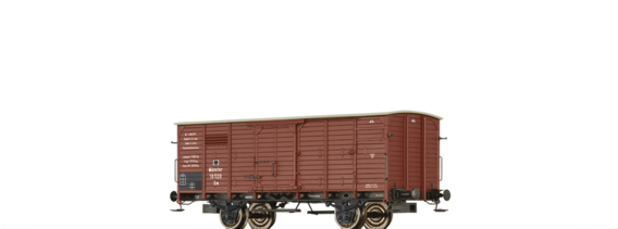 Covered Freight Car Gm K.P.E.V.