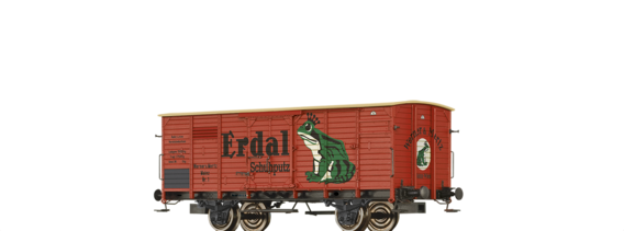 "Covered Freight Car G ""Erdal"", Private"