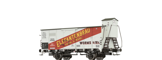 "Covered Freight Car Bierwagen ""Elefantenbräu"" DRG"