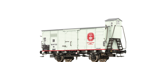 "Covered Freight Car Gkh ""VEB Schlachtwagen"" DR"