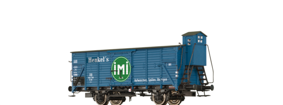 "Covered Freight Car G10 ""IMI"" DB"