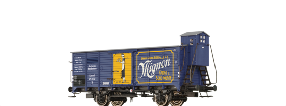 "Covered Freight Car G ""Mignon"" DRG"