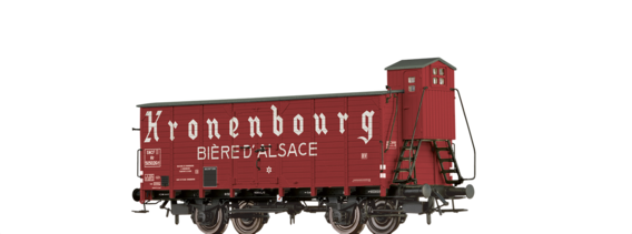 "Covered Freight Car Hlf ""Kronenbourg - Biere d´ Alsace"" SNCF"