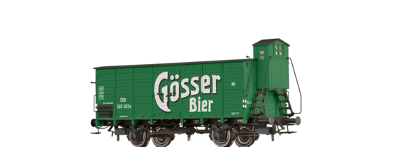 "Covered Freight Car G ""Gösser"" ÖBB"