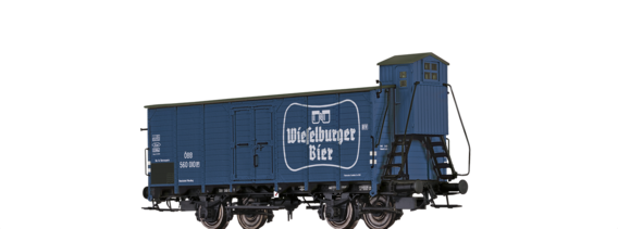 "Covered Freight Car G ""Wieselburger"" ÖBB"