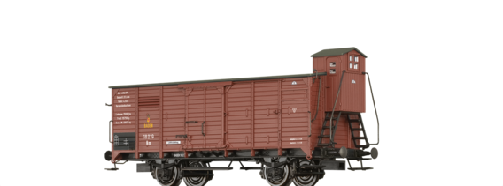 Covered Freight Car Nm BadStB