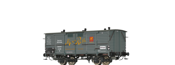 "Covered Freight Car Gh  ""Moser-Roth Schokolade"" DRG"