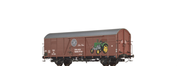 Covered Freight Car Glt