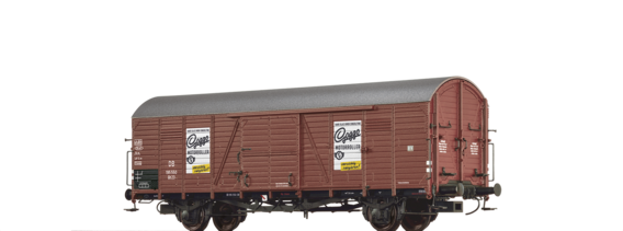 Covered Freight Car Glt 23
