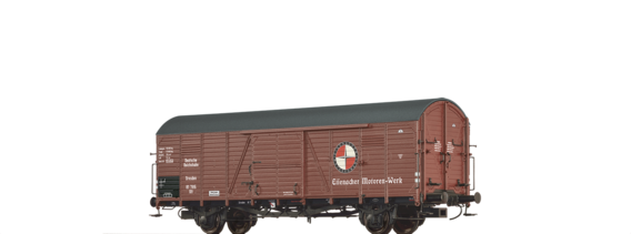 Covered Freight Car Gltu