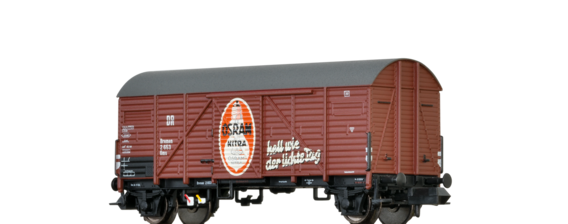 "Covered Freight Car Gms ""Osram "" DRG"
