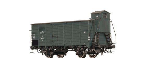 Covered Freight Car G BBÖ