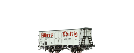 "Covered Freight Car Hlf ""Bieres Mutzig"" SNCF"