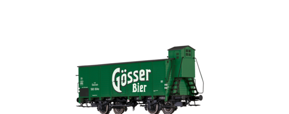 "Covered Freight Car ""Gösser Bier"" BBÖ"