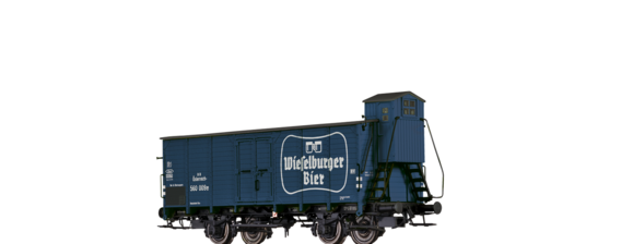 "Covered Freight Car ""Wieselburger"" BBÖ"