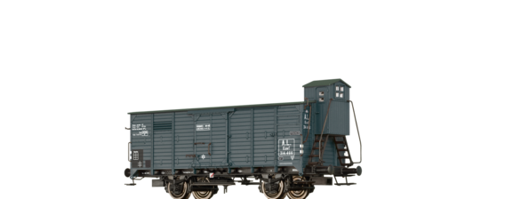 Covered Freight Car Kuwf A.L.