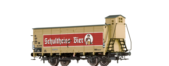 "Beer Car G10 ""Schultheiss (Berlin)"" DB"