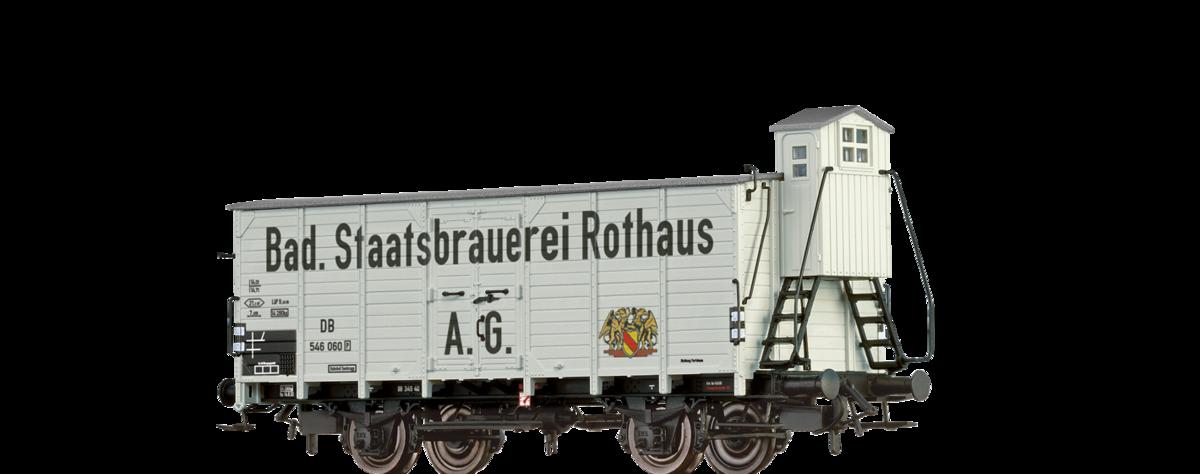 Brawa 67475 Bierwagen G10 DB III Rothaus