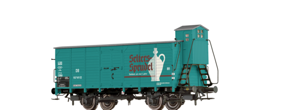"Covered Freight Car G10 ""Selters"" DB"