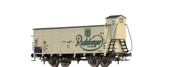 "Beer Car G10 ""Radeberger"" DR"
