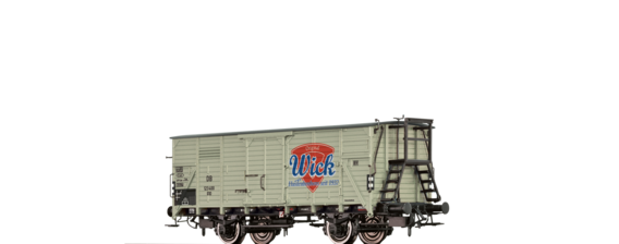 "Covered Freight Car G10 ""Wick"" DB"