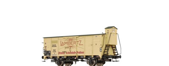 "Covered Freight Car G ""Lambertz"" DR"