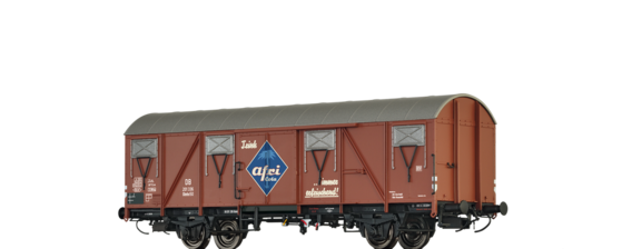 "Covered Freight Car Glmhs50 ""Afri Cola"" DB"