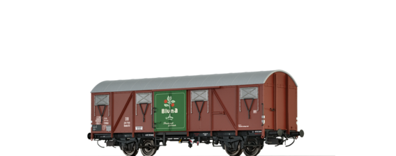 "Covered Freight Car Glmhs 50 ""Bluna"" DB"