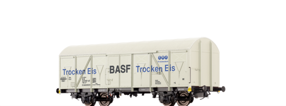 Covered Freight Car Gbs-uv 253