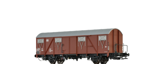 Covered Freight Car Gbs 245 DB