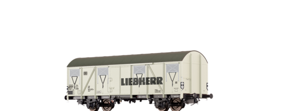 "Covered Freight Car ""Liebherr"" DB"