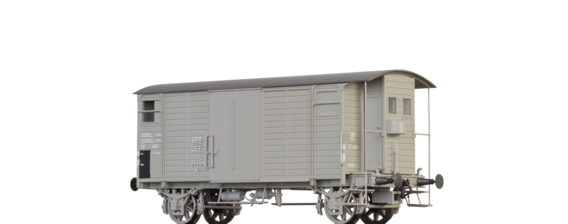Covered Freight Car K2 SBB