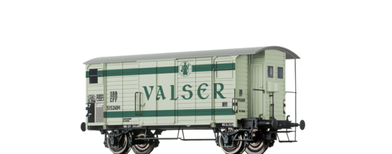 "Covered Freight Car K2 ""Valser"" SBB"