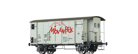 "Covered Freight Car K2 ""Mövenpick"" SBB"