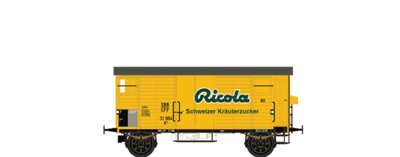 "Covered Freight Car K2 ""Ricola"" SBB"