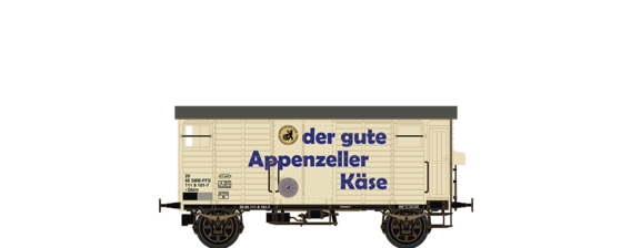 "Covered Freight Car K2 ""Appenzeller Käse"" SBB"