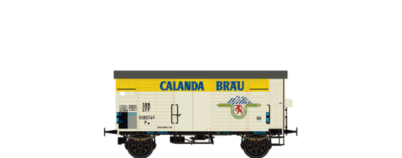 "Covered Freight Car K2 ""Calanda Bräu"" SBB"