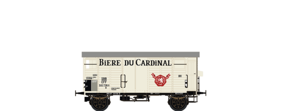 "Covered Freight Car K2 ""Biere du Cardinal"" SBB"
