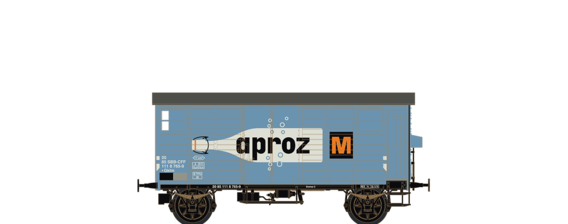 "Covered Freight Car K2 ""Aproz"" SBB"