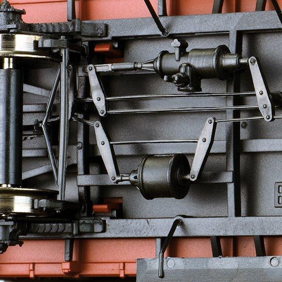 49712 gedeckter g terwagen g dr versuchswagen brawa. Black Bedroom Furniture Sets. Home Design Ideas