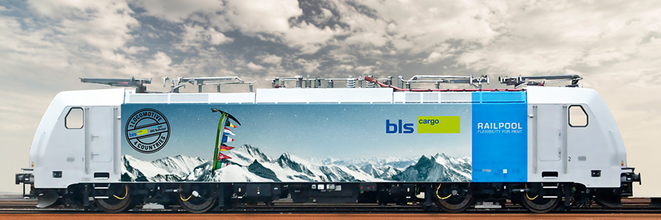 TRAXX Electric Locomotive BR 186 BLS